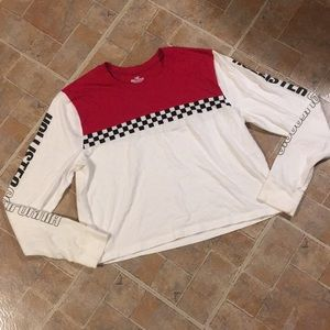 Hollister cropped long sleeve t-shirt size XS